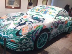 China Porsche. Made out wood and painted in white- bodied porcelain. NN