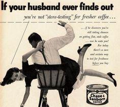 Coffee retro commercial
