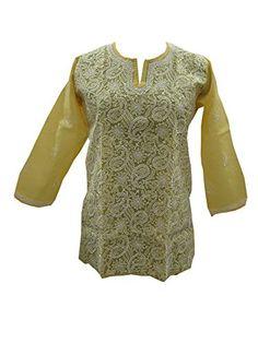 Product Details Bohemian Style, Boho Chic, Bohemian Fashion, Yellow Kurti, India Design, Indian Blouse, Casual Wear, Fashion Dresses, Tunic Tops