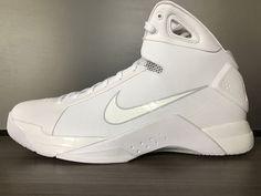 New MEN S Nike HYPERDUNK 08 WHITE BASKETBALL Shoes size 12  150 820321 100  2008  Nike 5755eff1a15