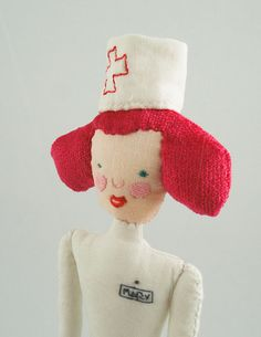 Nurse Doll by Magda Bielecka