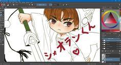 WIP Painting!  #drawings #chibi #cardcaptorsakura #カードキャプターさくら #fanart #painting  #shaoran #シャオランくん #anime #manga #digitalart #wip #krita #diury #diuryarts