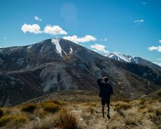 Quick walk in Porters Pass area up to a trig station which gives amazing views down to Lake Lyndon and Castle Hill. Day walks in Canterbury New Zealand Canterbury New Zealand, Adventure Photography, Mount Rainier, Walks, Castle, Van, Mountains, Photo And Video, Amazing