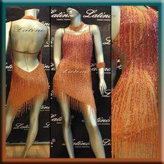 Latin Rhythm Salsa Ballroom Dance Dress