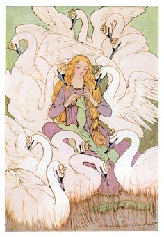 "Elenore Abbott - ""THE WILD SWANS"" written by  Hans Christian Andersen"
