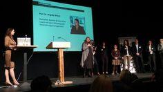 """Autorin Brigitte Witzer am 9. März in Karlsruhe bei ihrem Vortrag im Rahmen des Creative.Fem.Net und zum aktuellen Buch """"Die Fleißlüge"""" #fleissluege"""