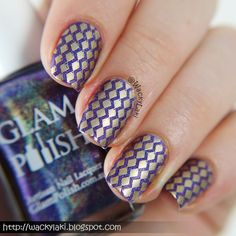 Wacky Laki: UberChic Collection 2 Stamping Plates Reivew