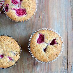 Gluten-Free Lemon-Raspberry Muffins HealthyAperture.com