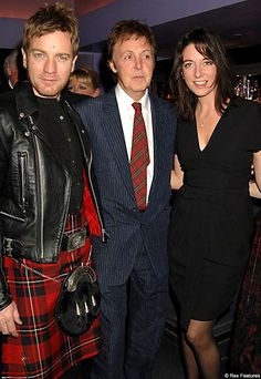 Ewan Macgregor w/Paul MacCartney well what are the chances!! My two favorite!!