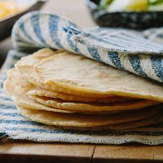 A recipe for Homemade Corn Tortillas.