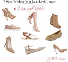 """Discover style tricks that you can actually apply to give that """"illusion"""" of longer legs. Longer Legs, Fit Flare Dress, Victoria Secret, Lace Up, Posts, Model, Blog, How To Wear, Fashion Tips"""