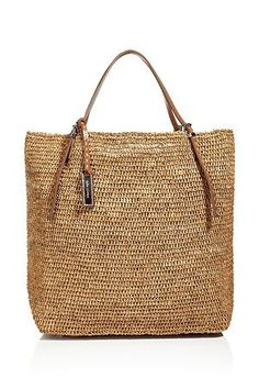Michael Kors Rafia Beach Bag