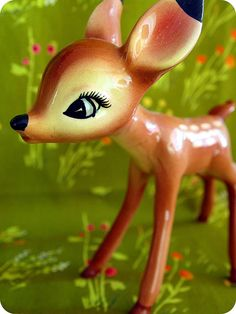 Benicio by Viviana Agostinho #fawn #deer - Carefully selected by GORGONIA www.gorgonia.it