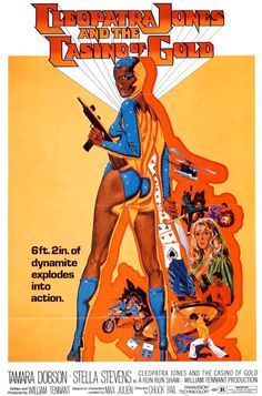 Cleopatra Jones and the Casino of Gold is a 1975 action-adventure Blaxploitation movie starring Tamara Dobson as Cleopatra. It is the sequel to the 1973 film Cleopatra Jones. Cleopatra, Pulp Fiction, Film Movie, Stella Stevens, Foxy Brown, Female Hero, Vintage Movies, Great Movies, Amazing Movies