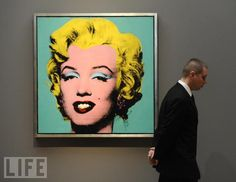 Andy Warhol's Famous 'Turquoise Marilyn'