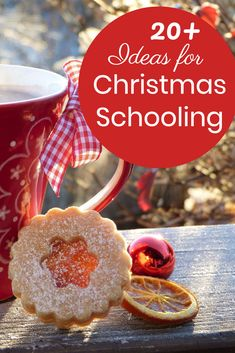 20  Ideas for Creative Christmas Homeschooling in December    #homeschool #homeschooling #naturestudy #naturewalk #handsonlearning #homeschoolideas #homeschoollesson #christmasschool #christmasactivity #christmasfun #christmasprintable #printables #homeschoolprintable