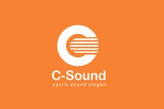 C-Sound Logo Design - Brannet Market Sound Logo, Music Channel, Professional Logo Design, Coreldraw, Music Industry, Say Hi, Business Logo, High Quality Images, Slogan