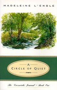 Reading: A Circle of Quiet, Madeleine L'Engle..a book I have been meaning to read. At the end right now and have enjoyed it more and more as it goes on. Very insightful and timeless. I can see myself re-reading in the future for sure.