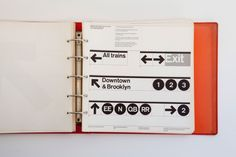 Graphic design fiends will rejoice in this online copy of the New York City Transit Authority Graphics Standards Manual, originally published by Unimark International in 1970.  New York City Transit Authority Graphics Standards Manual, 1970.