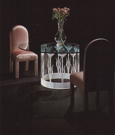 """palmandlaser: """"From """"The International Collection of Interior Design"""" """" 80s Interior Design, 1980s Interior, Interior Design Living Room, Interior And Exterior, Interior Office, Decorating Blogs, Interior Decorating, Decorating Games, Décor Boho"""