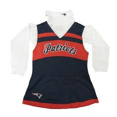 Official New England Patriots ProShop - Patriots Preschool Cheer Jumper New  England Patriots Gear b8fb718b8