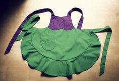 Little Mermaid apron! Need.