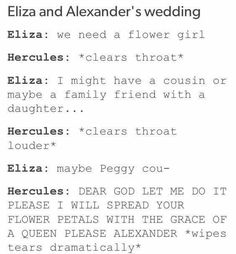 And that's how Hercules became the flower girl