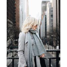 @emily_luciano - All grey layered look ❄️ | :@brandonduvall