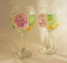 Spring Blossom Glass Set (2)