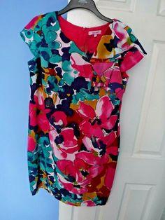 PER UNA WOMEN'S COLOURFUL DRESS SIZE UK 16  EUR 44 #PerUna #DRESS Size 16, Blouse, Color, Tops, Dresses, Fashion, Vestidos, Moda, La Mode