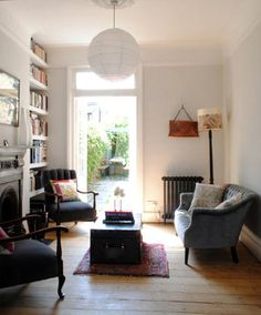 Cassandra Ellis's library: loads more lovely images of her home on Design Sponge
