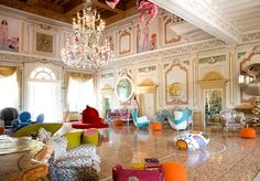 A five-star Verona art hotel, with breakfast, a massage, a welcome gift and cocktail, and spa access