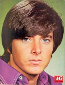 Bobby Sherman. OMG!  Had a huge poster of him on my wall when I was young.  Wonder what happened to him?