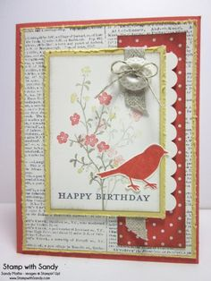Morning Meadow, RS85 & DD74 by stampwithsandy - Cards and Paper Crafts at Splitcoaststampers