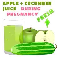 Fresh Cucumber and Apple Juice and other Fresh Juice Recipes for Pregnant Women http://ifocushealth.com/juice-recipes-for-pregnant-women/