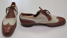 Oxford shoes - this style of shoe was a predominant trend in footwear in the 1920s.  This shoe, specifically, was used for sports.