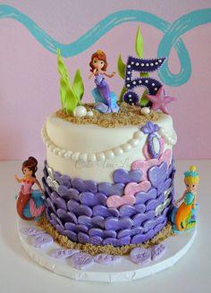 Sofia Mermaid - Cake-Um-Licious