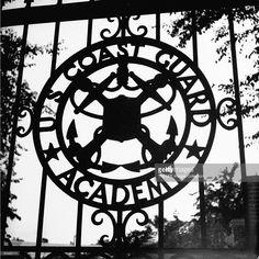 The US Coast Guard Academy gate.