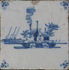 Typisch oude stoommachine