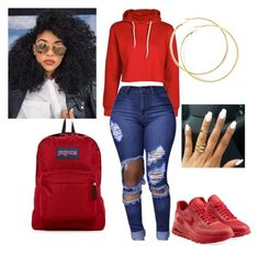 Designer Clothes, Shoes & Bags for Women Swag Outfits For Girls, Cute Swag Outfits, Cute Outfits For School, Teen Fashion Outfits, Teenager Outfits, Dope Outfits, Chic Outfits, Trendy Outfits, Fall Outfits