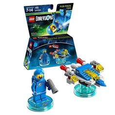 WARNER HOME VIDEO GAMES Lego Dimensions Lego Movie Benny Fun Pack