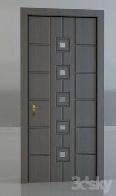 Enjoy The Beauty Of Stylish Interior Wooden Doors Flush Door Design, Single Door Design, Home Door Design, Wooden Main Door Design, Door Gate Design, Door Design Interior, Interior Barn Doors, Custom Wood Doors, Wood Front Doors
