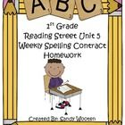 If you use Reading Street, these contracts will motivate your students by making spelling homework fun! Students choose 2 of the activities to comp...