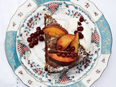 Walnut Cake with Apricot Preserves | This four-ingredient cake is not too sweet, with walnuts acting as the flour.