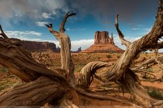 Photo Monument Valley - Jesus' Thumb by Stefan Häusler on 500px