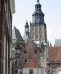 Zutphen, Gelderland the Netherlands.An old village with beautiful churches, old streets and houses.