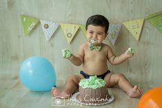 cake smash baby boy