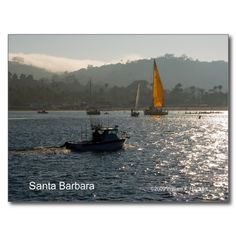 Santa Barbara Sunset Products, California Post Cards at the Cheshire Cat Photo Store on Zazzle!