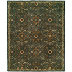 Found it at Wayfair - Chana Hand-Woven Blue/Brown Area Rug