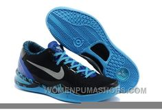 e58764e222f Buy Men s NK Kobe 8 Elite Low Basketball Shoes Black Blue For Spring from  Reliable Men s NK Kobe 8 Elite Low Basketball Shoes Black Blue For Spring  ...